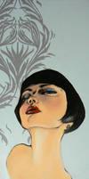 Portrait Art Deco by avacreat