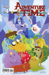 Adventure Time cover variant by KassandraHeller