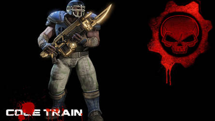 GoW3 Cole Train by PunkMikeTaylor