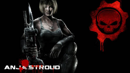 GoW3 Anja Stroud by PunkMikeTaylor