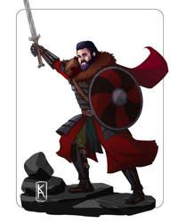 Bart the fantasy Varangian by Senekha