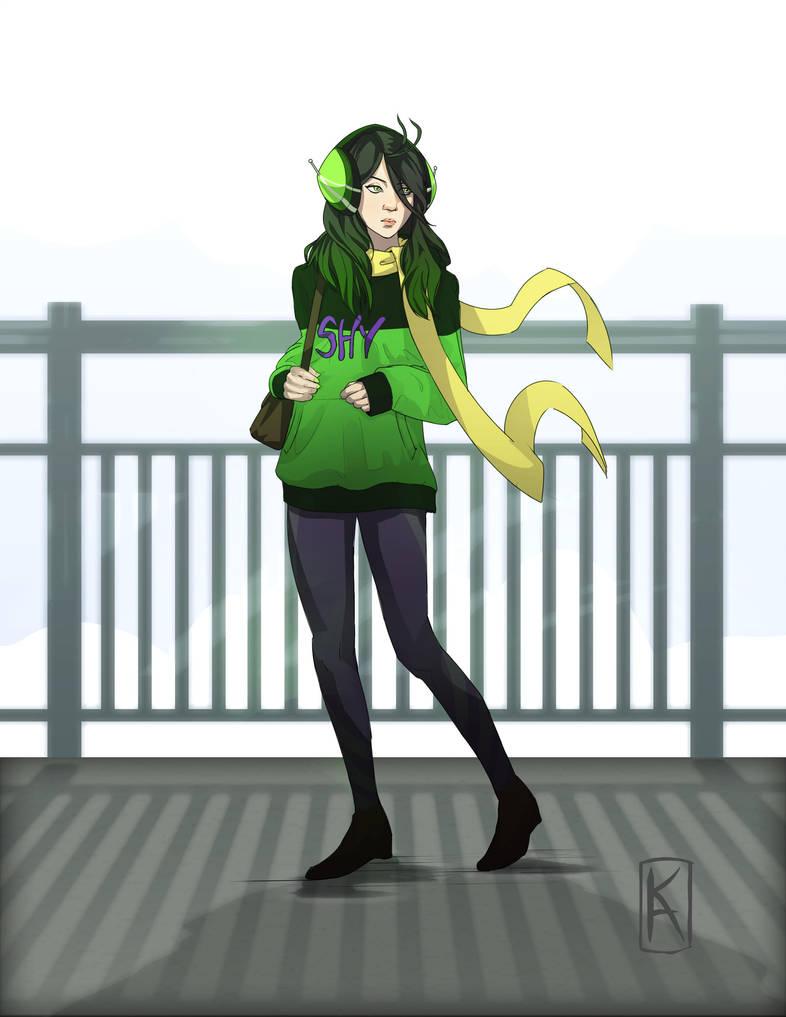 Mantis Girl by Senekha