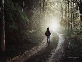 alone boy with tutorial by jyotisworup-panda