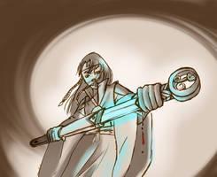 Swordmage by StrawberriPaopuJuice