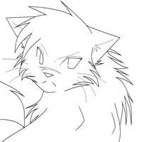 YellowFang LineArt by JayFeatherIshEpic