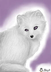 White Fox by JayFeatherIshEpic