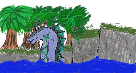 Water Dragon by deadfromboredom