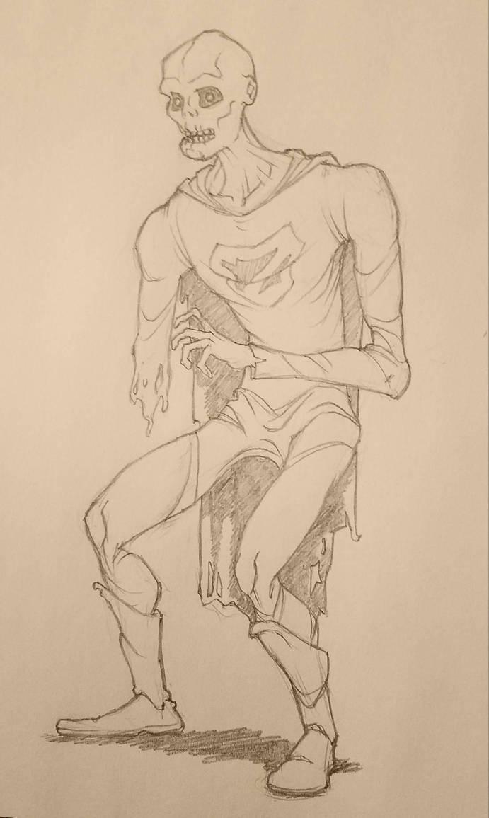 Zombie-Man by alexzemke