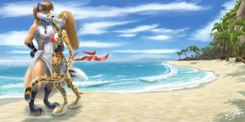 ... at the beach. by BlakeFox