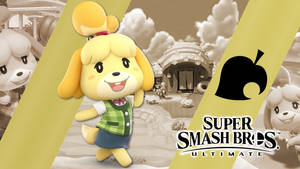 Super Smash Bros. Ultimate- Isabelle by CrossoverGamer