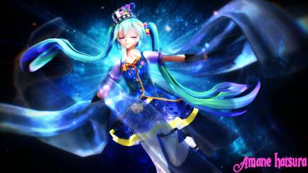 MMD TDA:Magical Miku Ver G. by AmaneHatsura
