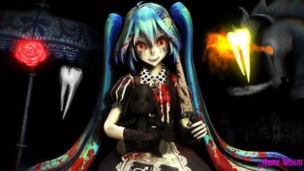 MMD TDA: Miku Doll by AmaneHatsura