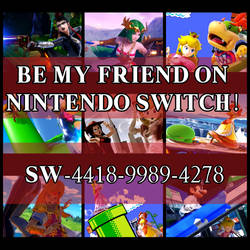 My Nintendo Switch Friend Code! by AmaneHatsura