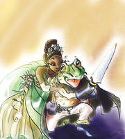 The Princess and Frog by JeNeSaisPasRabbit