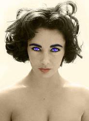 Elizabeth Taylor by dmsnarf