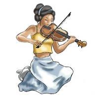 Play on Violine by Ph0b0ss