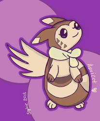 Marriland's Wedlocke: Apricot the Furret by Friggin-Artwork