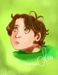 His eyes were murky as moss... (Jojen Reed) by Friggin-Artwork