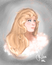 Lonely, and lovely (Val, The Wildling Princess) by Friggin-Artwork