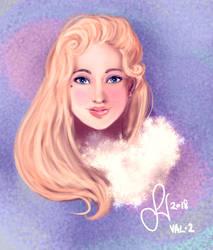 The Wildling Princess (Val, ver 2) by Friggin-Artwork