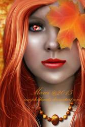 Autumn Portrait2 by marphilhearts