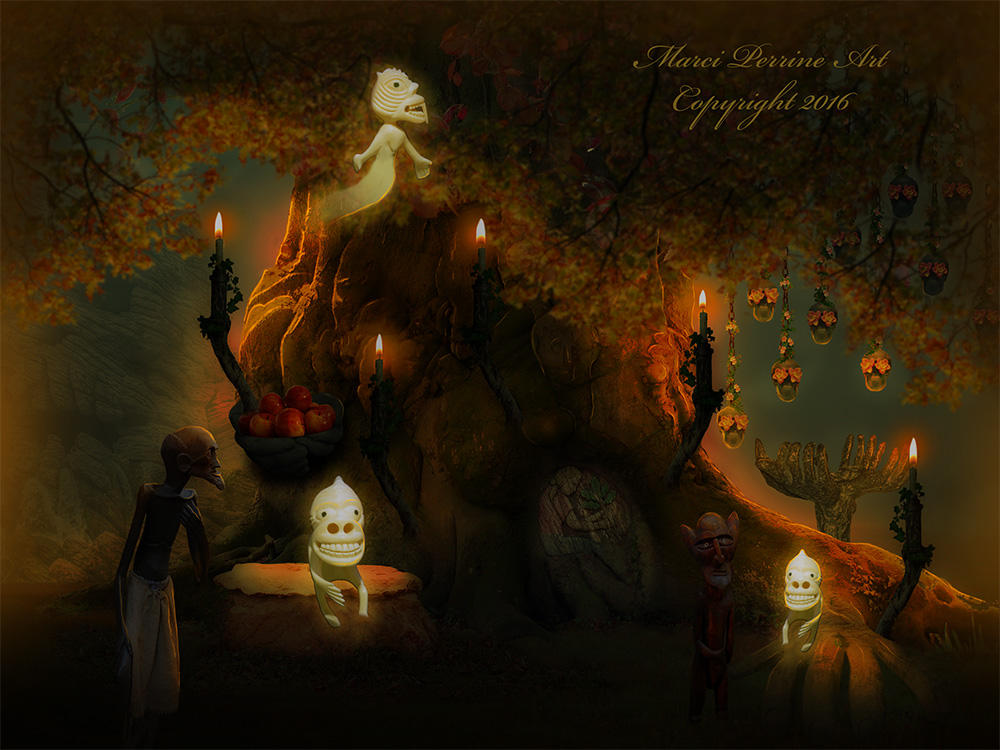 The Spirit Tree by marphilhearts