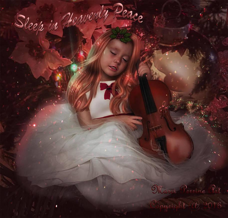 Sleep in Heavenly Peace by marphilhearts
