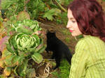Persephone and cabbage by MorganeDeMatons