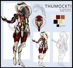 Warframe Fan Concept - Thumockti (OLD-ISH) by Grincubus