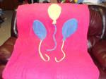 Pinkie Pie Handmade Blanket by Dark-Sith-Angel