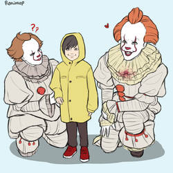 Pennywise, meet Pennywise! by Ronimep