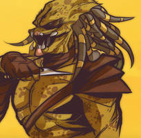 Norwood inspired Predator by squarerootofdestiny