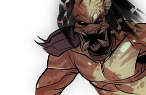 Predator angry by squarerootofdestiny