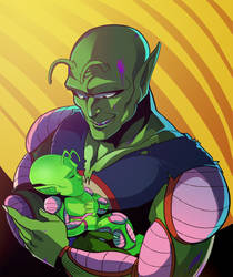 King Piccolo (COMMISSION) by squarerootofdestiny