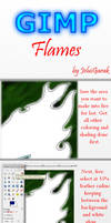 GIMP Tutorial: Flames by BeJuled