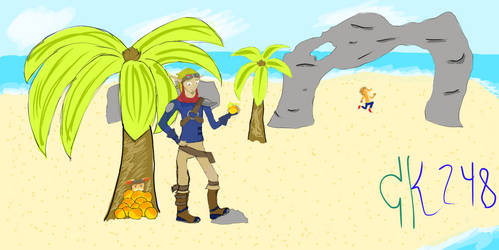 Jak and Daxter: Uncharted Island by CooperKid248