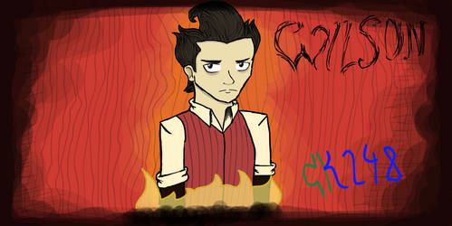 Don't Starve - Wilson by CooperKid248