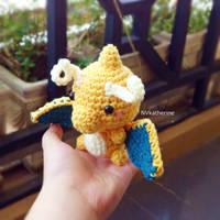 [FREE SHIPPING] Chibi Dragonite amigurumi by NVkatherine