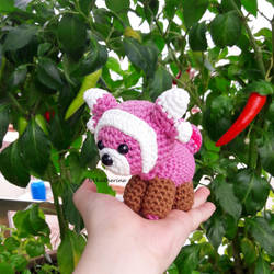 [DISCOUNTED SHIPPING] Chibi Stufful amigurumi by NVkatherine