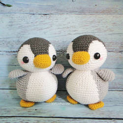 Penguins Amigurumi by NVkatherine