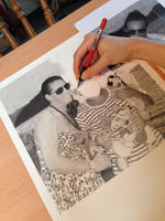 Realistic Pencil Drawing Stages :) by SamanthaMessias