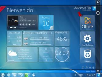 My desktop by JUANMAS7ER