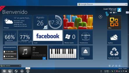 My desktop (Update) by JUANMAS7ER