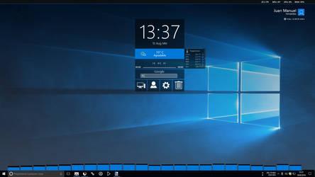 Windows 10 Anniversary Update 1607 by JUANMAS7ER