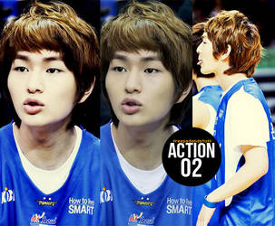 Action02 Onew by blingblingcore