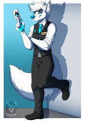 Commission: Asuki by Blitzy-Arts