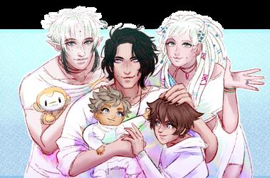 family by takiyaki