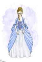 Rococo Gown by Yosephyne