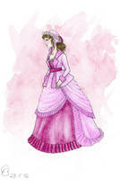 Victorian Bustle Gown by Yosephyne