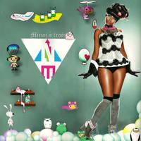 Minaj a trois by TheUh-OhOreo
